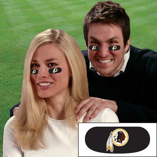 Washington Redskins NFL Eyeblack Strips