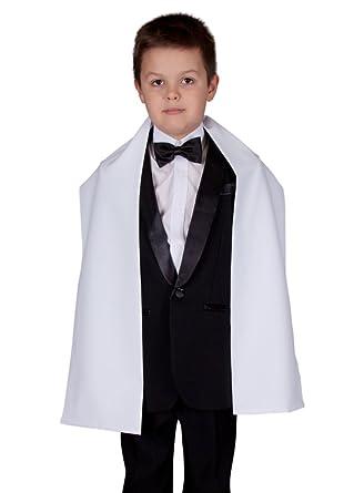 8fae258df51 Boutique-Magique étole blanche pour baptême ou écharpe de communion   Amazon.fr  Vêtements et accessoires