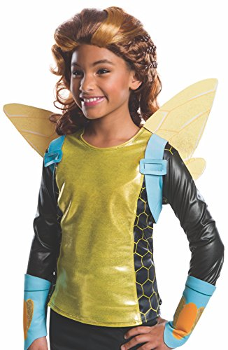 Halloween Wigs Dc (Rubie's Costume Girls DC Super Hero Bumblebee)