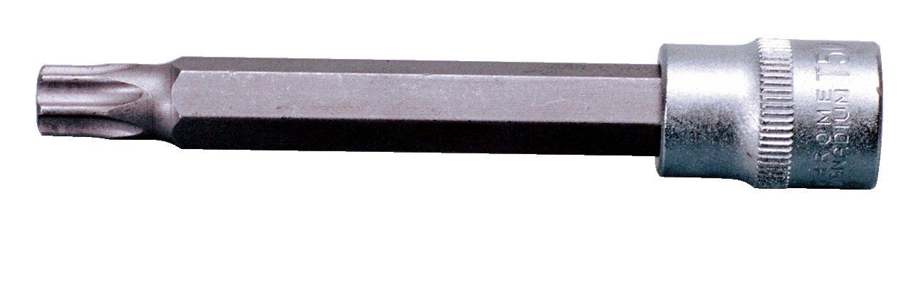 T50, 3//8 KS Tools 911.1557 Llave de vaso con punta para tornillos Torx