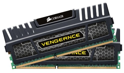 Corsair CMZ16GX3M2A1600C10 Vengeance 16GB (2x8GB) DDR3 1600 MHz (PC3 12800) Desktop Memory 1.5V (Kit Pro Gamers)