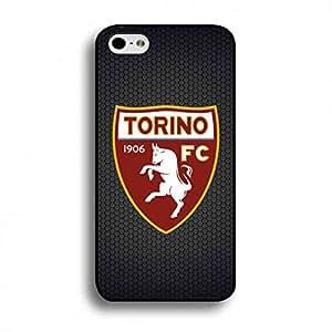 Compact Black Hard Skin with Serie A FC Logo Designed,Custom Torino FC Phone Cover Durable TPU Phone Funda Apply for Apple iPhone 6/6S(4.7inch)