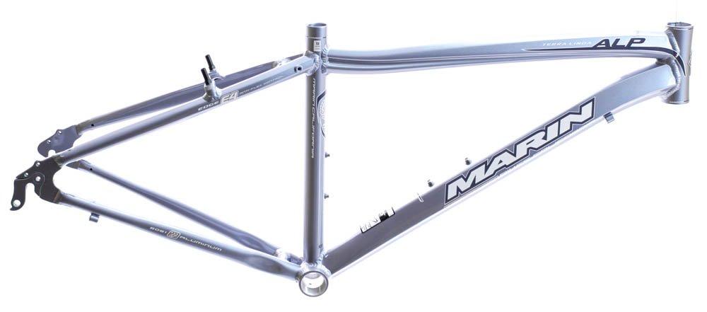20.5'' MARIN TERRA LINDA 700C Women's Road City Bike Frame Blue Sky Alloy NOS NEW