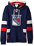 rangers clothing - adidas NHL New York Rangers CCM Pullover Jersey Hood, Navy, X-Large