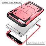 iPhone 6s Plus Case, [Armorbox] i-Blason Built-in [Screen Protector] Heavy Duty Shock Reduction [Bumper] for Apple iPhone 6 Plus 5.5 Inch (Pink)