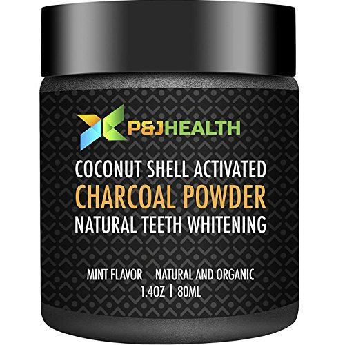 P & J Health Teeth Whitening Coconut Activated