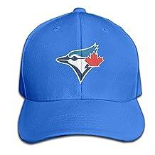 Toronto Blue Jays Baseball Team Logo Baseball Hats For Men Women Black (7 Colors)