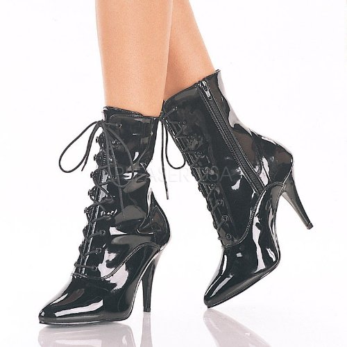 Pleaser Vanity-1020 - sexy talon hauts chaussures femmes vernis bottes 36-48