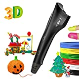 Nulaxy 3D Pen, 2019 Newest 3D Drawing Printing Pen with PLA Filament Refills, Speed&Temperature Control, Non-Clogging, Best Gift for Kids Adults Arts Crafts Model DIY, Halloween Kids Toys, Easy to Use