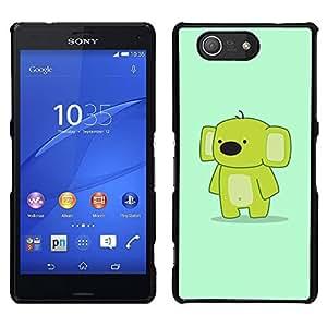LECELL--Funda protectora / Cubierta / Piel For Sony Xperia Z3 Compact -- Cute Funny friendly Koala --