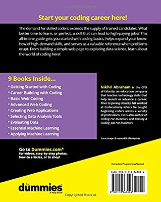 Coding All-in-One For Dummies: Nikhil Abraham: Amazon com: Panworld