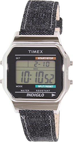 Timex Unisex TW2P77100AB Heritage Collection Digital Display Quartz Black Watch