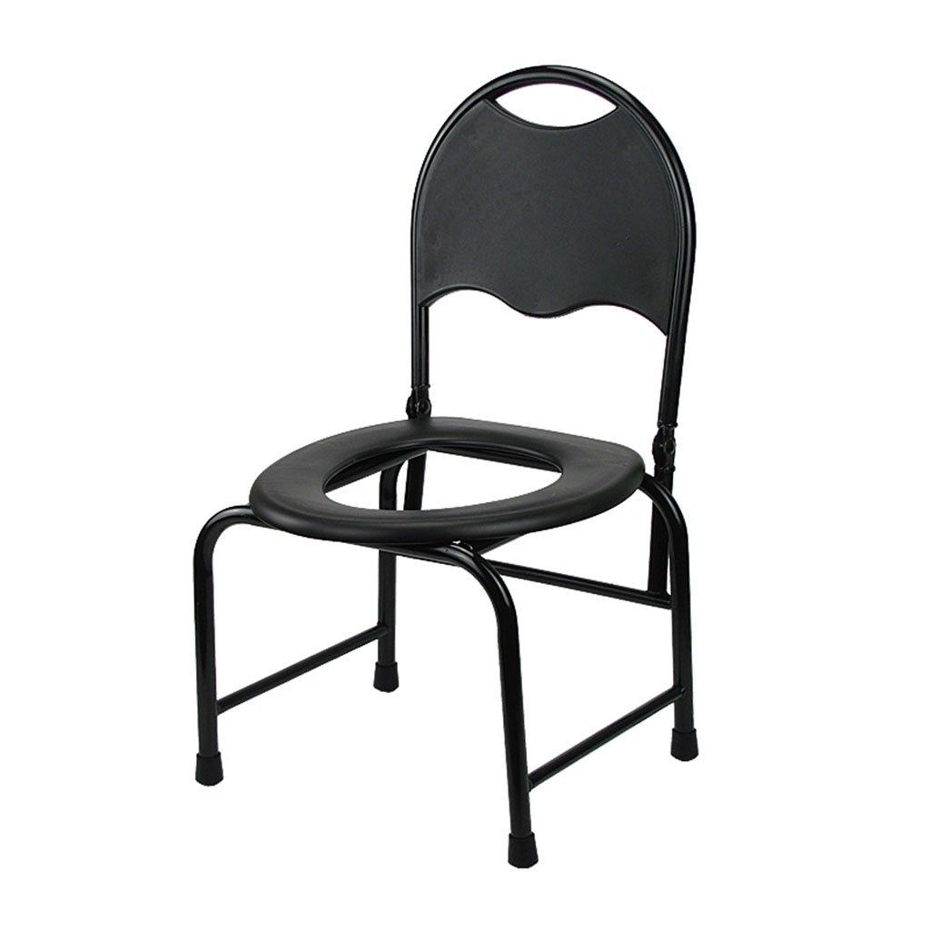 GRJH® トイレの椅子、折りたたみ式の滑り止めのバスルーム老人の妊婦の寝室 防水,環境の快適さ B079GP4GD1