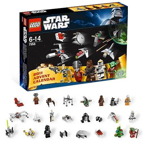 LEGO Star Wars(TM) Advent Calendar 7958(Discontinued by manufacturer) (Lego Advent Calendar Star Wars)