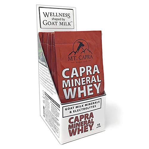 MT. CAPRA SINCE 1928 Mineral Whey, Alkalizing Food Based Electrolyte Powder From Goat Milk, 10 - Mineral Whey Mt Powder Capra