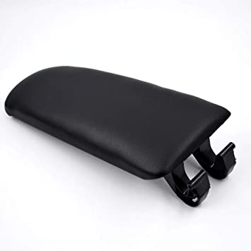 labwork-parts Leather Armrest Center Box Console Lid Cover for 2004 2005 2006 2007 2008 Audi A4 B7 Black