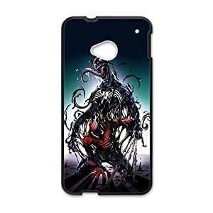 Spider Man Fight With Monster Black HTC M7 case by mcsharks