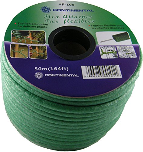 Continental Flexible Multi Purpose Plant and Garden Ties, 50M Roll by Continental
