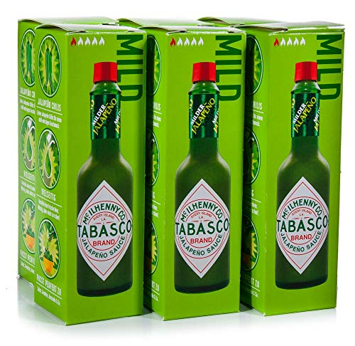 Tabasco, Milde Groene Pepersaus, 57 ml, 2-pack