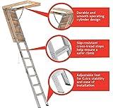 Louisville Ladder 25.5x54 Aluminum Attic