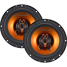 Cadence Acoustic S Q652 250W 6.5-Inch 2-Way Q-Series Coaxial Car Speakers, Set of 2