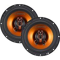 Cadence Acoustics Q652 250W 6.5 2-Way Q-Series Coaxial Car Speakers, Set of 2