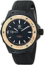 TAG Heuer Men's WAJ2182.FT6015 Aquaracer Analog Display Swiss Automatic Black Watch