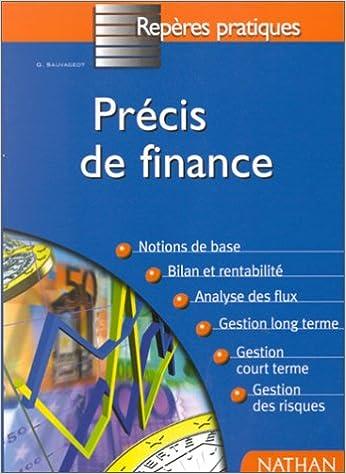 Lire un Précis de finance epub pdf