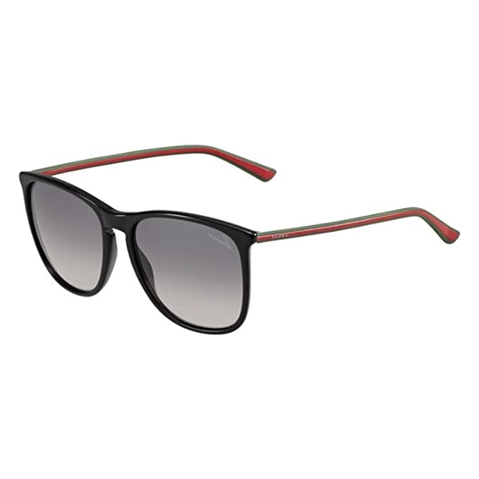 Gucci Gafas de Sol GG-3767/S-MJ9 (57 mm) Negro: Amazon.es ...