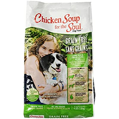 Chicken Soup For The Soul 418215 Grain-Free Lamb And Lentil Pet Food, One Size/4 Lb