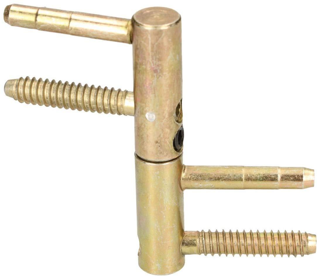 16 Einbohrband 14 20 mm Messing Universal Türscharnier Haustürband Robust