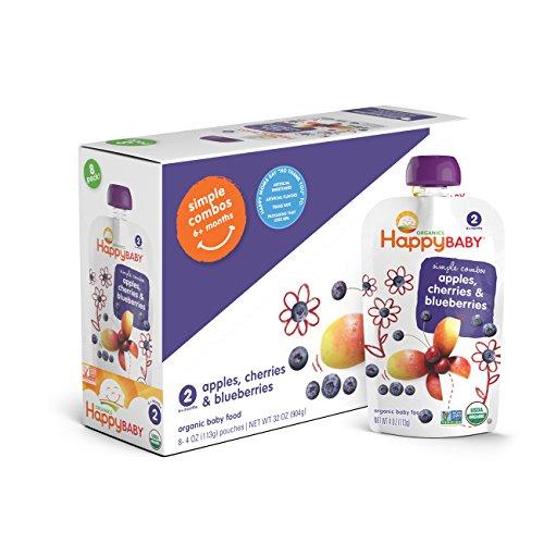 Organic Simple Combos Cherries Blueberries