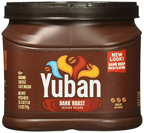 Yuban Ground Coffee, Dark Roast, 25.3 Ounce