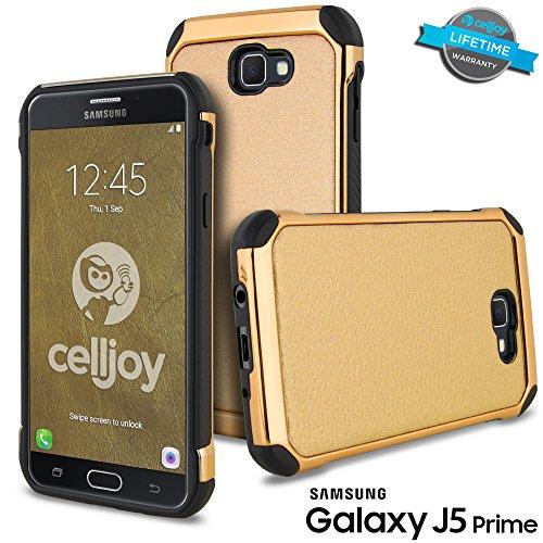 Slim Fit Hybrid Case for Samsung J5 (Black) - 9