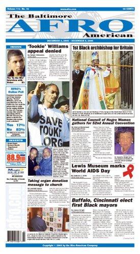 Magazines : Baltimore Afro-American
