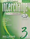 Interchange Full Contact 3A, Jack C. Richards and Jonathan Hull, 0521686717