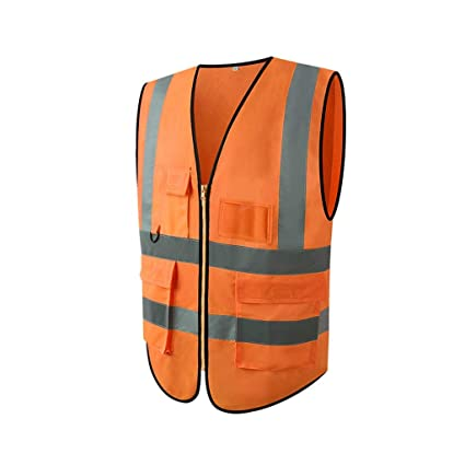 FH Reflective Vest, Traffic Sanitation Safety Clothing/Night ...