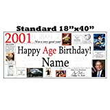 2001 PERSONALIZED BANNER by Partypro