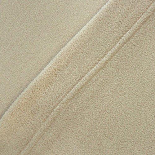 Cozy Fleece Microfleece Sheet Set, King, Tan
