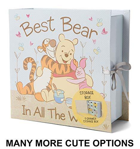 Baby Milestone Keepsake Storage Box: Track Treasured Memories - Best Bear in All The World