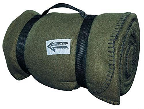 Kuschlige Flauschige Army Style Picknick Decke Outdoordecke 140*190cm in verschiedenen Farben (Oliv)
