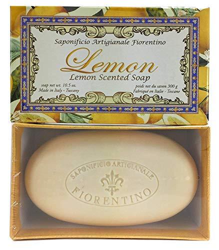 Saponificio Artigianale Fiorentino Limone Single 10.5 Oz. Soap Bar From Italy