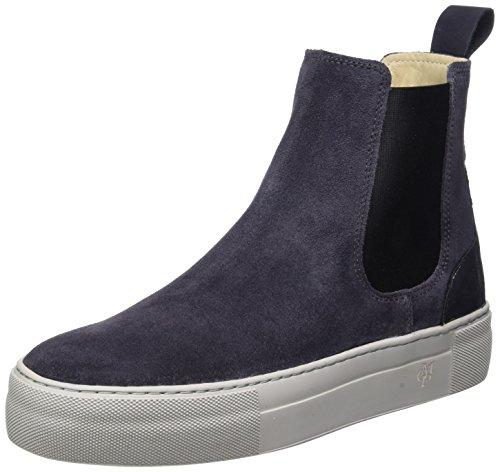 Grey dark Chelsea Botas O'polo Mujer Para Marc 70814195001309 Heel Gris Flat qHgwxvB