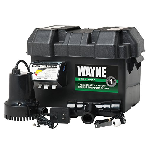 WAYNE ESP15 Battery Back-Up 12 Volt Sump Pump System (Battery Sump Pump Backup compare prices)