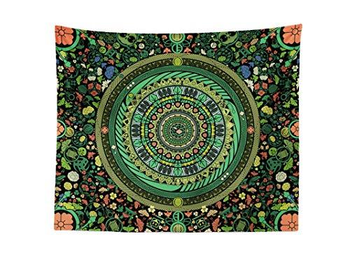 Cool Bedding`s Design of Mandala Tapestry Zen Garden, Boho Wall