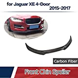 JCSPORTLINE for Jaguar XE 4-Door 2015-2017 Carbon Fiber Front Chin Spoiler