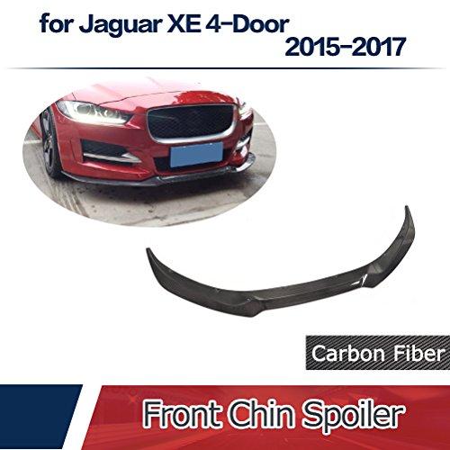 JCSPORTLINE for Jaguar XE 4-Door 2015-2017 Carbon Fiber Front Chin Spoiler by jcsportline