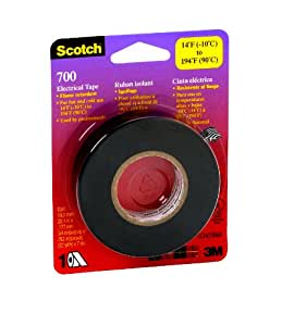 Scotch Electrical Tape, 3/4-Inch by 66-Foot