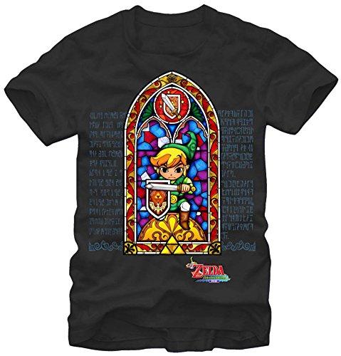 Legend Of Zelda Wind Waker Stained Glass T-Shirt