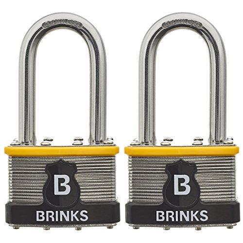 Brinks Commercial Padlocks 677-44812 44mm Laminated Padlock with 2
